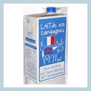 SLVA-Terralacta-Lait-De-Nos-Campagnes-UHT-bouchon-demi-ecreme-semi-skimmed-milk-screw-cap-1-litre-liter-FRANCE