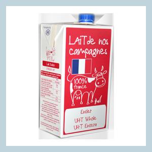 SLVA-Terralacta-Lait-de-nos-campagnes-UHT-bouchon-entier-whole-milk-screw-cap-1-litre-liter-FRANCE